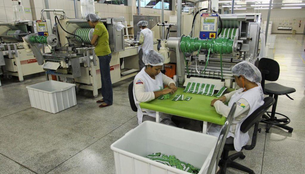 Produção de Latex para fabrica de Preservativo Natex